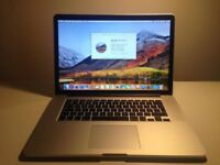 MacBook Pro 15 Intel Core i7, 2.8 Ghz, 16GB Ram, 500GB SSD + AppleCare (15 July 2018)