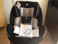 Joie Stages 0+/1/2 Car Seat black and cream brand new never used with its original packaging