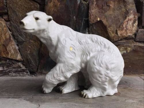 Royal Dux Polar Bear Made in Czechoslovakia