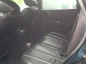 Nissan Murano black 4x4 mpv petrol 3.5lt