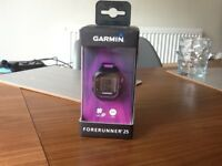 Garmin forerunner 25 GPS sports watch