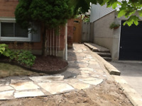 Masonry, interlock, retaining wall repair/rebuild