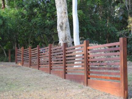 Fencing Timber Architectural Hardwoods Moorooka Brisbane South West Preview
