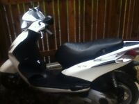Piaggio fly 125cc IE low miles 16 plate 1 previous owner! Mot till 2019 july Also loud alarm!