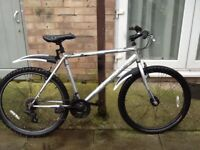 £50 rock rider bike 26 wheel 20 frame 21 gears in great condition can deliver for petrol cost