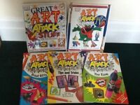 Art Attack Books (as on tv)