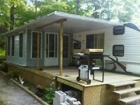 Added room and hard top awning