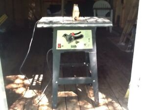 Electric bench saw