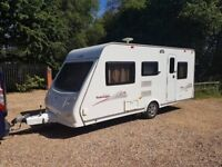 2010 Elddis Tobago 495 5 berth caravan MOTOR MOVER, Awning Light to tow ! January Sale