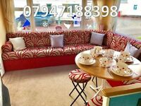 🌟🌟DG STATIC CARAVAN THAT SLEEPS 8 FOR SALE AT SANDY BAY HOLIDAY PARK ON NORTHUMBERLAND COAST🌟🌟