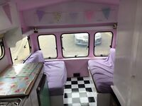 Vintage/shabby chic caravan!4 berth ,awning included