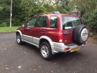 Suzuki Grand Vitara 2L 4 Wheel Drive 2005 (55 Plate)