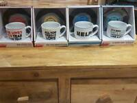 Official Beatles cups and saucers