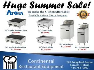 NEW RESTAURANT EQUIPMENT! COME CHECK IT OUT...We have been selling New and Used Equipment for over 25 Years