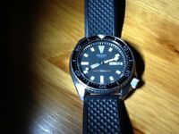 Two Seiko divers watches