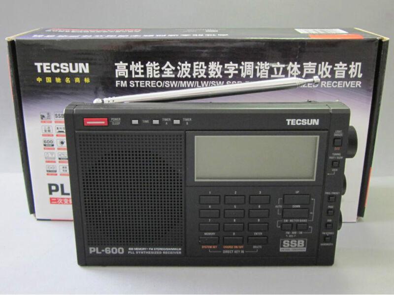Радиоприёмник TECSUN PL-600 FM、LW、MW、LW PLL SSB Radio на eBay