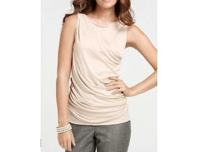 Ruched Front Top (Ann Taylor Petite Ruched Front Shell Top NWT)