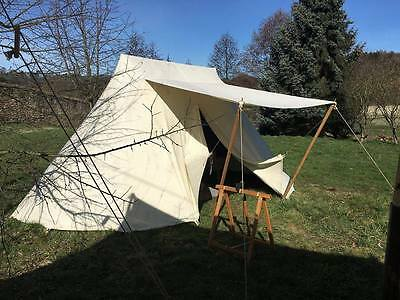 Sachsenzelt 6m x 4m Saxon Typ2 tent LARP Reenactment Mittelalter Zelt Wikinger