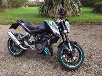 KTM Duke 125cc Learner Legal 2012 Good Condition