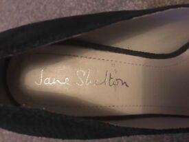 Jane Shilton Black Kitten Heel