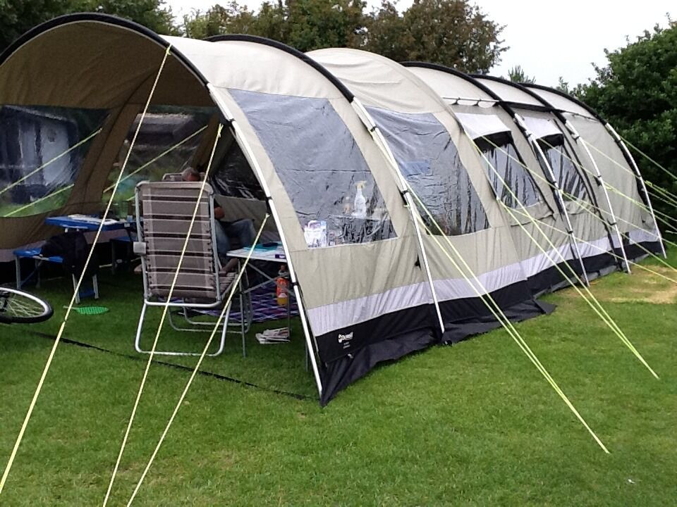 Outwell Bear Lake 6 Tent And Front Extension Plus