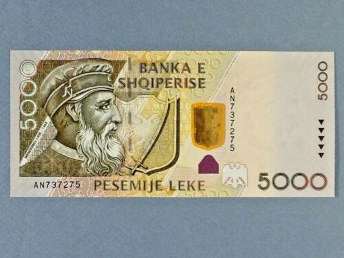 Albania 5,000 Leke P-75a 2007