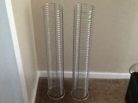 2 X CD Racks used but still very good condition
