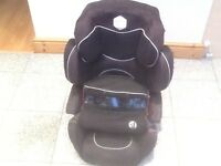 Award winning KIDDY PRO group 123 full highback height adjustable booster car seat for 9kg upto 36kg