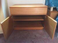 Wooden storage cupboard/unit - £25