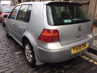 2001 Y VOLKSWAGEN GOLF 1.6 SE 5 DOOR