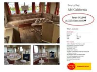 CHEAP STATIC HOLIDAY HOME FOR SALE, NOT WHITLEY BAY, NOT HAVEN, LOW DEPOSIT & MONTHLY PAYMENTS