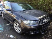 2005 AUDI A3 1.9 TDI manual GREY ''BREAKNG'',parts for sale