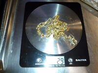 GOLD CHAIN 14 CT - 29 GRAMS