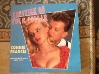Connie Francis/Platters vinyl single