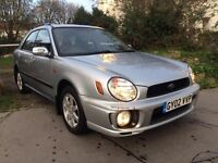 SUBARU IMPREZA 2.0 GX HATCHBACK REG 2002 5 DOOR, READY TO DRIVE MOT 2018 PART SERVICE HISTORY