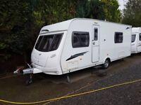 2010 Lunar Lexon SE 4 Berth caravan FIXED BED, MOTOR MOVER, Bargain !!! January Sale