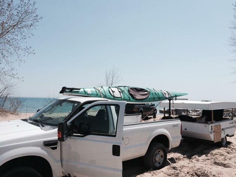 Kayak/Necky tesla Nm 17 Ft Sea Kayak Expedition Class. Carbon Fiber.