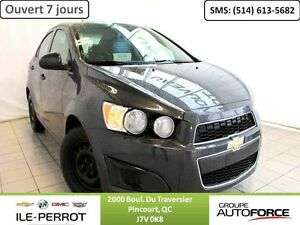 2014 CHEVROLET SONIC SDN LS, AIR CLIMATISE, BLUTOOTH