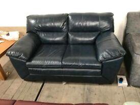 DFS Falcon 2 seater leather sofa