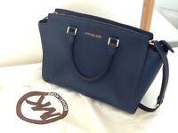 Michael Kors Selma medium saffiano leather bag - RRP 310 so grab a bargain!