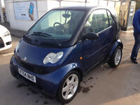 Smart Fortwo f/s/h low miles