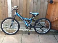 "Boys 20"" Probike Wolf Mountain Bike"