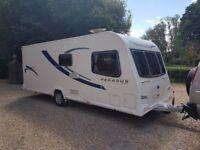 2014 Bailey Pegasus Verona 4 Berth Caravan FIXED BED MOTOR MOVER Awning