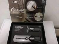 Brand New Boxed InnoDesk Executive Business Tools Letter Opener / Document Shredder(Battery Operated