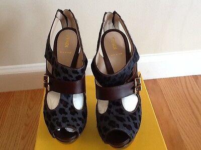 Authentic limited edition Fendi shoes size 39