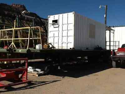 Doghouse W 42 Flatbed Float Trailer