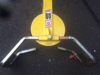 Wheel lock bulldog QD wheel lock caravan wheel lock