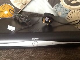 Sky+ HD box x 2 incl remotes and wires £20 each or £35 for both