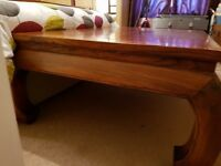 Large solid teak wood coffee table .... £80 ono Pick up only Broughty Ferry