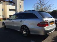 Mercedes E280cdi estate, dvd headrests, SPORT, very good condition.